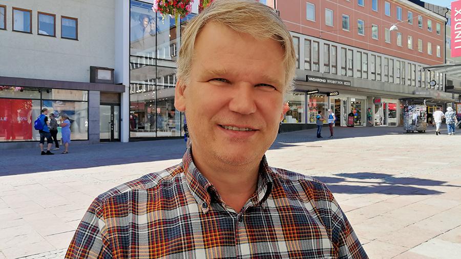 Per Simfors, universitetslektor vid Linköpings universitet.