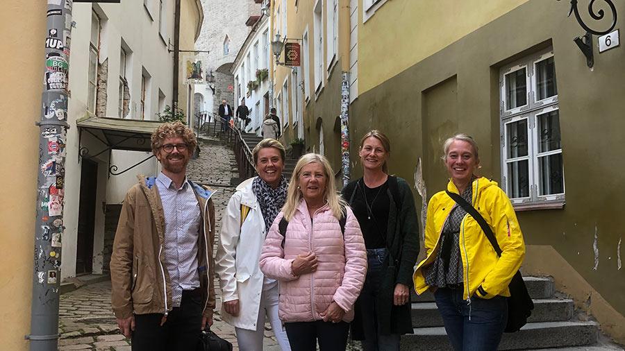 Tobias Möllerström, Sofia Hillenborg, Liselotte Johansson, Sofie Norburg och Magdalena Malengård