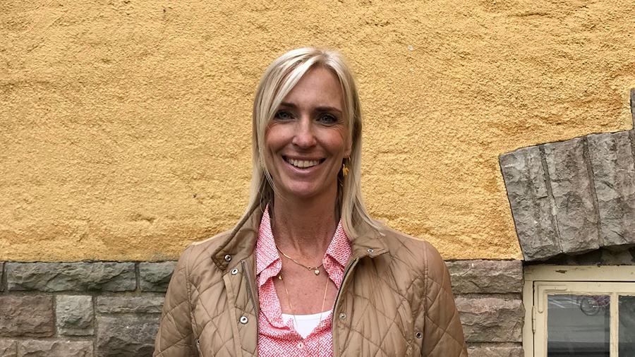 Katrin Jahrehorn, lärare på Vasaskolan i Kalmar.