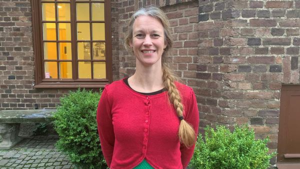 Anna Hansen, museichef för Regionmuseet i Kristianstad
