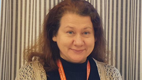 Irina Sadakova, vuxenlärare och samordnare för internationella projekt hos Sundbybergs vuxenutbildning